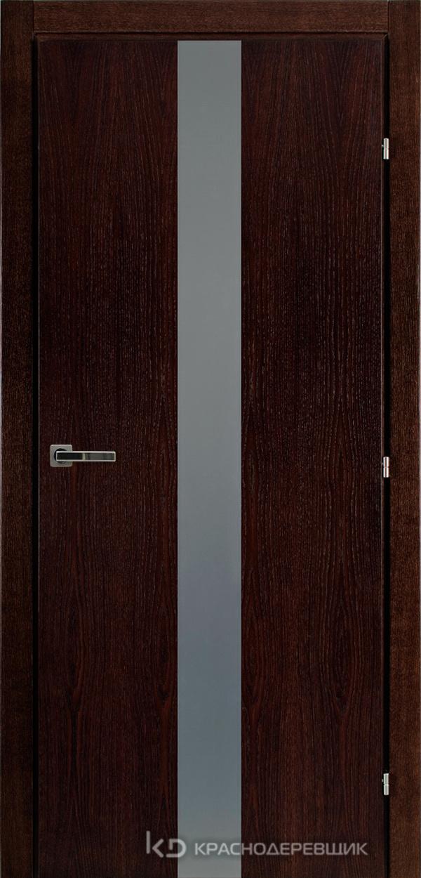 7000 МореныйДуб Дверь 7306 ДО 21- 9 (пр/л), с фурн., Lacobel