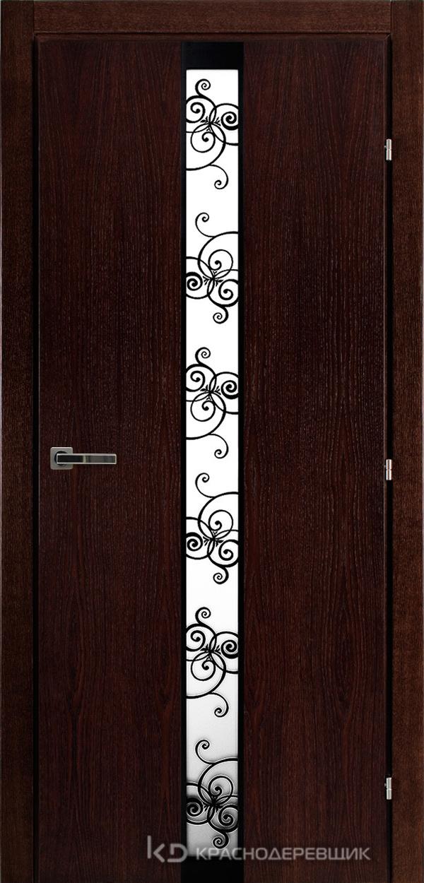 7000 МореныйДуб Дверь 7302 ДО 21- 9 (пр/л), с фурн., ВКЛ Винтаж,150