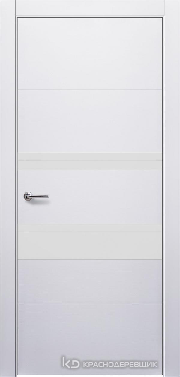 700 Белый Дверь 703Т ДО 21- 9 (пр/л), мех.замок, СтеклоБелое