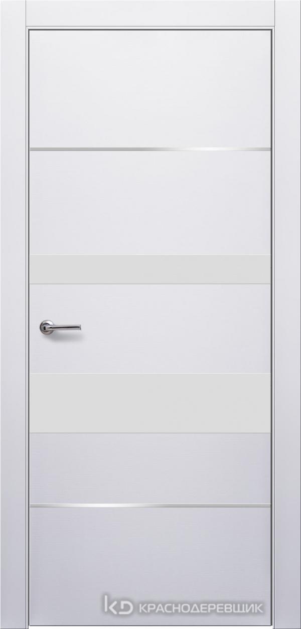 700 Белый Дверь 703ТМ ДО 21- 9 (пр/л), мех.замок, СтеклоБелое