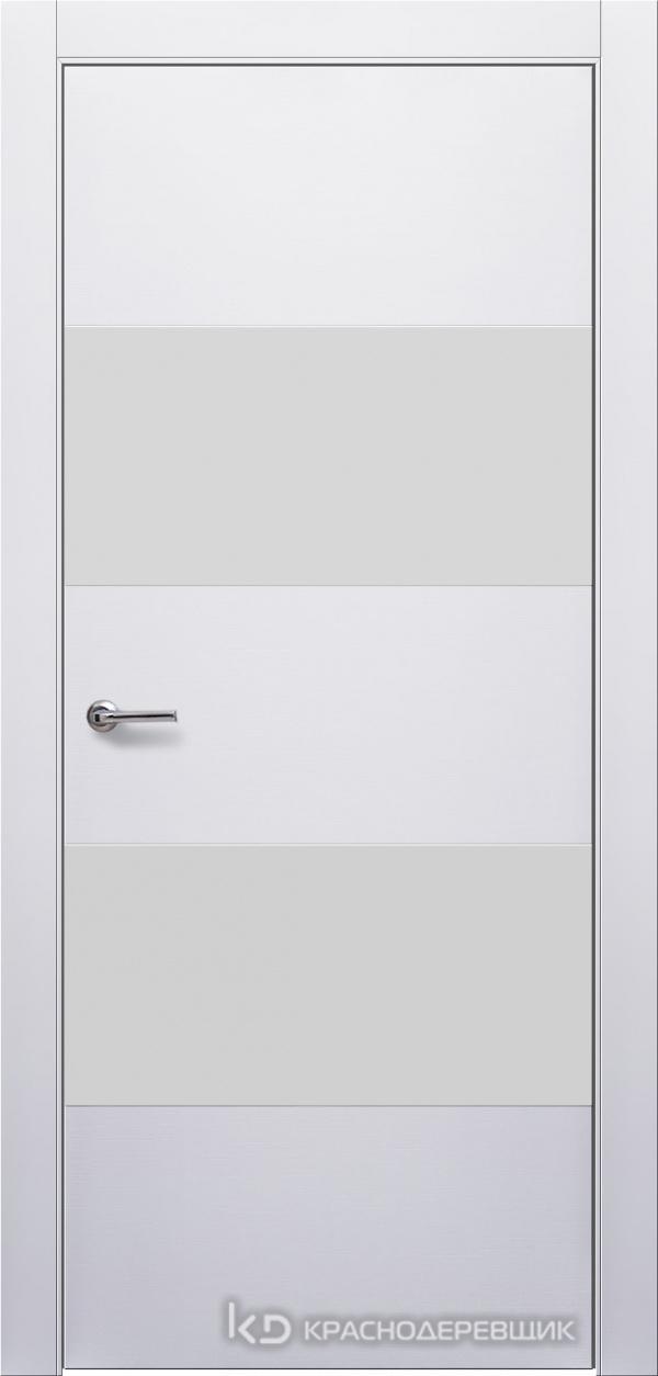 700 Белый Дверь 705Т ДО 21- 9 (пр/л), мех.замок, СтеклоБелое