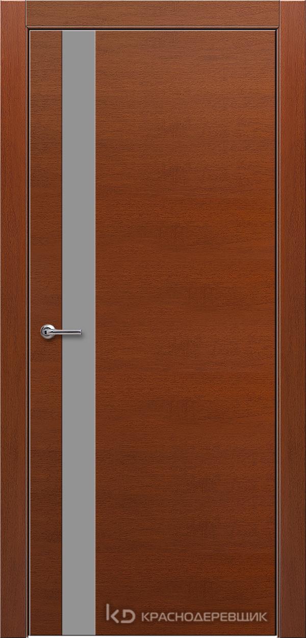 700 БразГрушаШпонКурупикса Дверь 701 ДО 21- 9 (пр/л), с фурн., СтеклоСерое