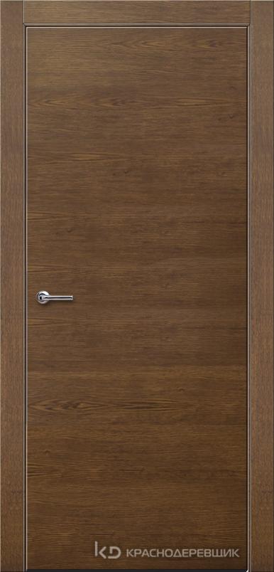 700 ДубКофеШпонДуба Дверь 700 ДГ 21- 9 (пр/л), с фурн.