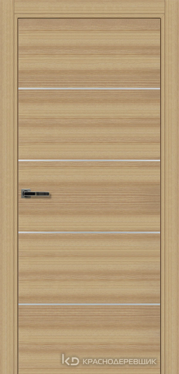700 Дуб натуральный Дверь 700М ДГ 21- 9 (пр/л), мех.замок