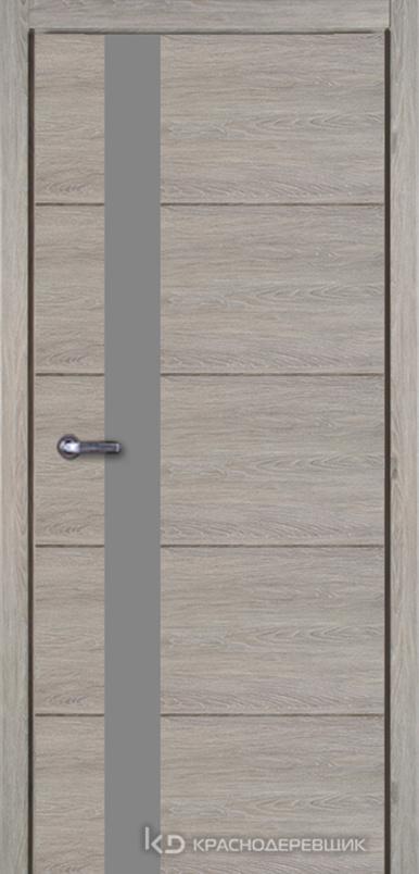 700 Пепельный Дверь 701 ДО 21- 9 (пр/л), мех.замок, МателакСильвер