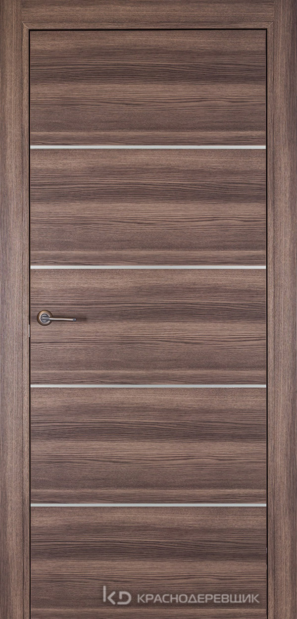 700 Дуб темный Дверь 700М ДГ 21- 9 (пр/л), мех.замок
