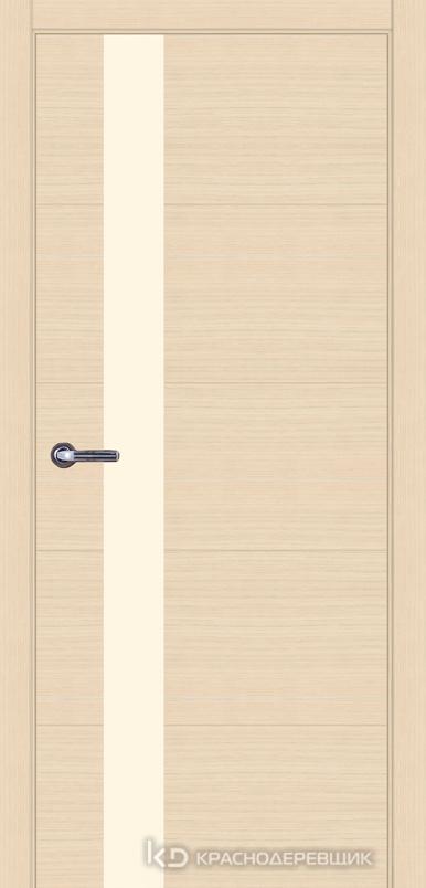 700 ДубВыбел Дверь 701 ДО 21- 9 (пр/л), мех.замок, ЛакобельЖемчужноБелый