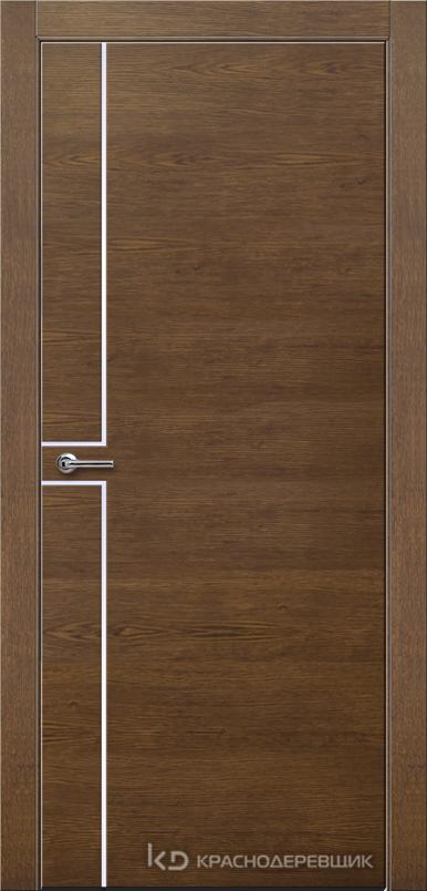 700 ДубКофеШпонДуба Дверь 707 ДГ 21- 9 (пр/л), с фурн.