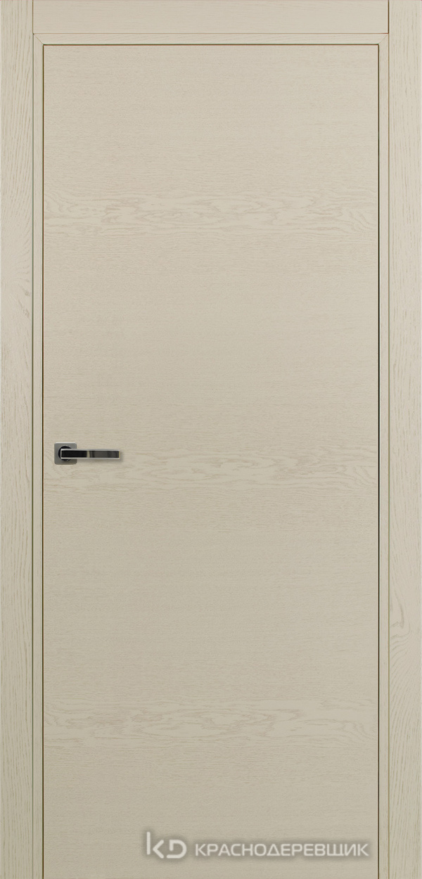 700 ЭмальЖемчужныйШпонДуба Дверь 700 ДГ 21- 9 (пр/л), с фурн.