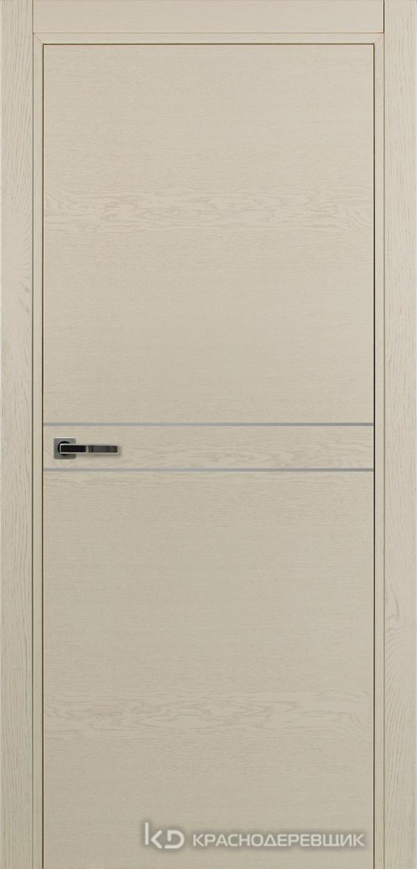 700 ЭмальЖемчужныйШпонДуба Дверь 706 ДГ 21- 9 (пр/л), с фурн.