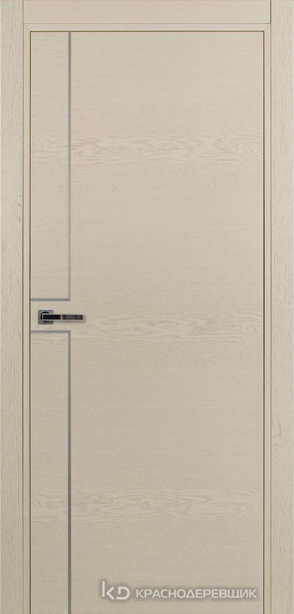 700 ЭмальЖемчужныйШпонДуба Дверь 707 ДГ 21- 9 (пр/л), с фурн.