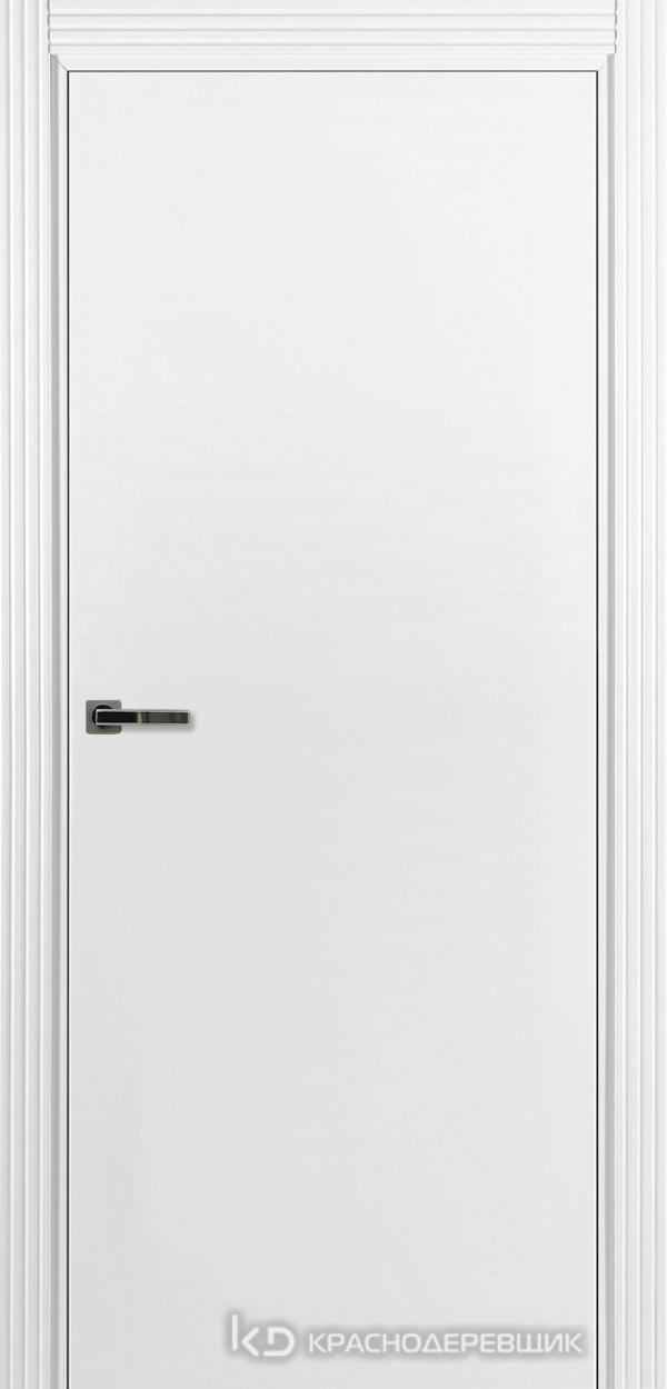 730 MDF ЭмальБелый Дверь 730 ДГ 21- 9 (пр/л), с фурн.