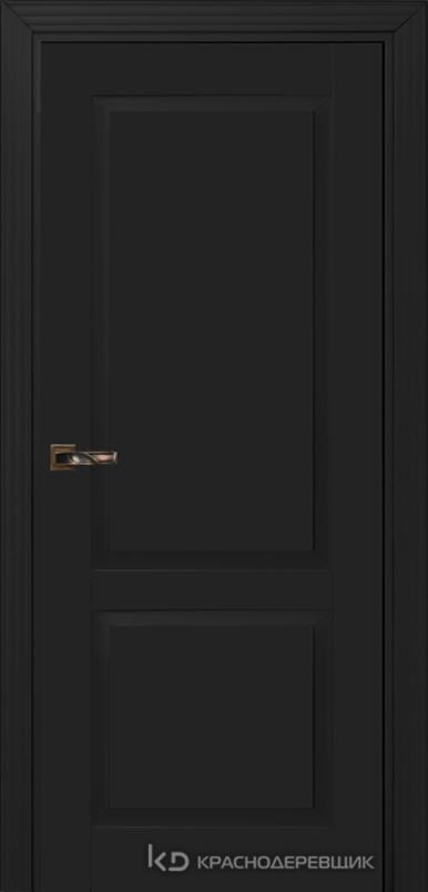 730 MDF ЭмальЧерный Дверь 732 ДГ 21- 9 (пр/л), с фурн.