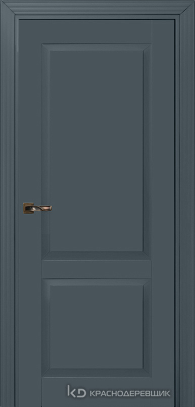 730 MDF ЭмальСерый Дверь 732 ДГ 21- 9 (пр/л), с фурн.