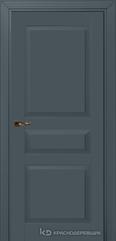 730 MDF ЭмальСерый Дверь 733 ДГ 21- 9 (пр/л), с фурн.