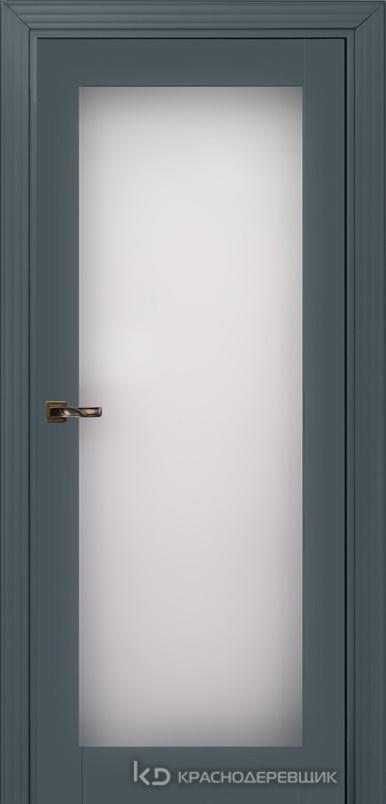 730 MDF ЭмальСерый Дверь 739 ДО 21- 9 (пр/л), с фурн. Стекло Триплекс 8мм