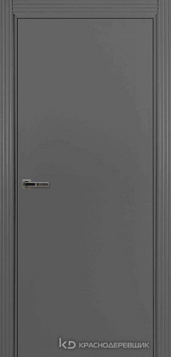 730 MDF ЭмальСерый Дверь 730 ДГ 21- 9 (пр/л), с фурн.