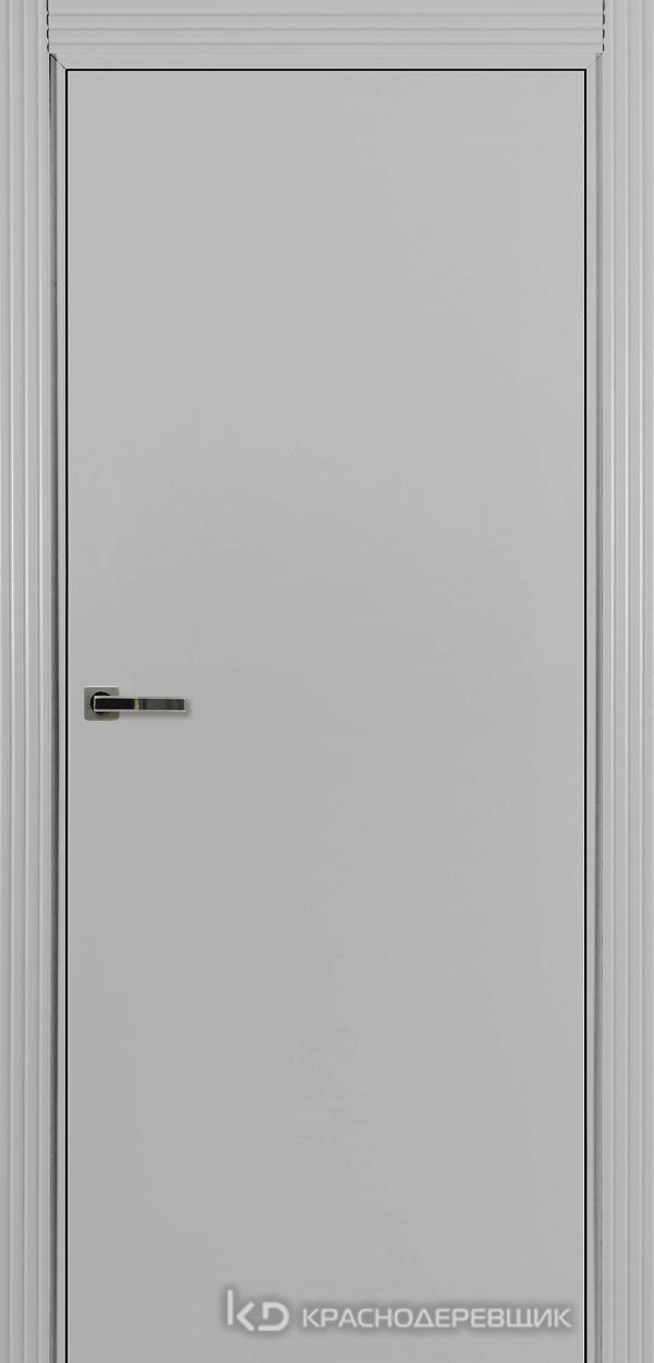 730 MDF ЭмальСветлоСерый Дверь 730 ДГ 21- 9 (пр/л), с фурн.