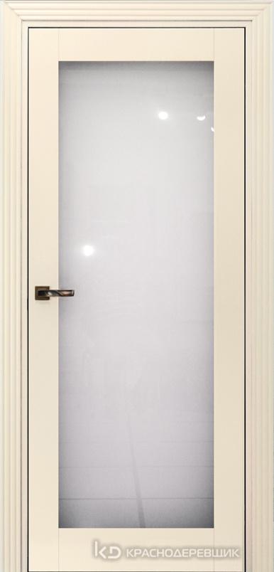 730 MDF ЭмальЖемчужный Дверь 739 ДО 21- 9 (пр/л), с фурн. Стекло Триплекс 8мм