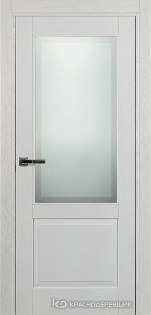 740 ШпонЭмальБелый Дверь 742.1 ДО 21- 9 (пр/л), с фурн. СтеклоМатПсевдофацет