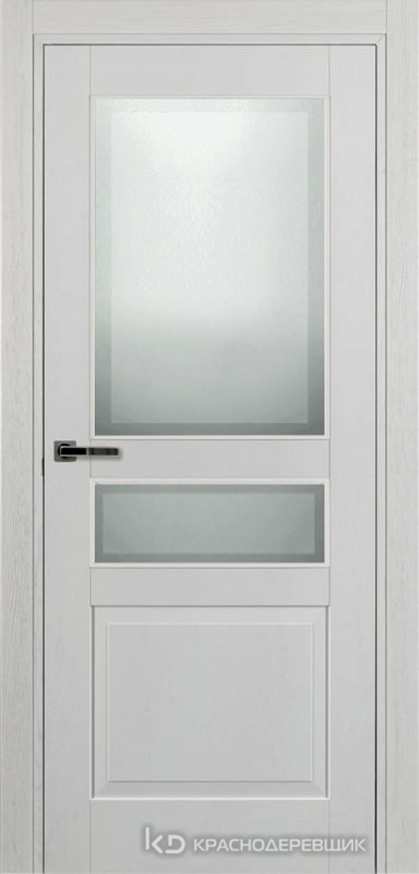 740 ШпонЭмальБелый Дверь 743.1 ДО 21- 9 (пр/л), с фурн. СтеклоМатПсевдофацет