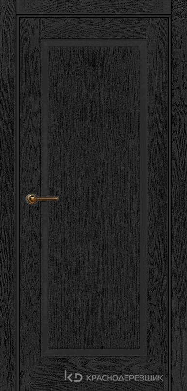 740 ШпонЭмальЧерный Дверь 741 ДГ 21- 9 (пр/л), с фурн.