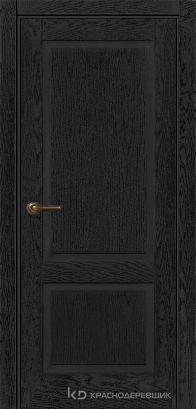 740 ШпонЭмальЧерный Дверь 742 ДГ 21- 9 (пр/л), с фурн.