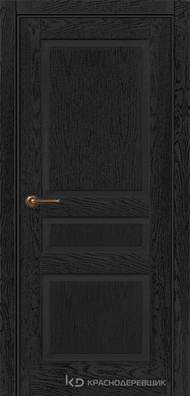 740 ШпонЭмальЧерный Дверь 743 ДГ 21- 9 (пр/л), с фурн.