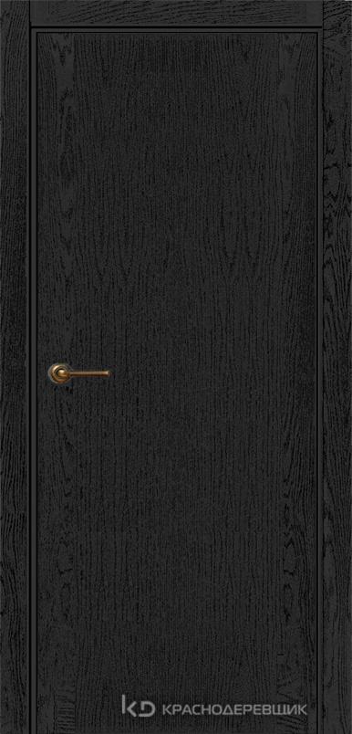 740 ШпонЭмальЧерный Дверь 740 ДГ 21- 9 (пр/л), с фурн.