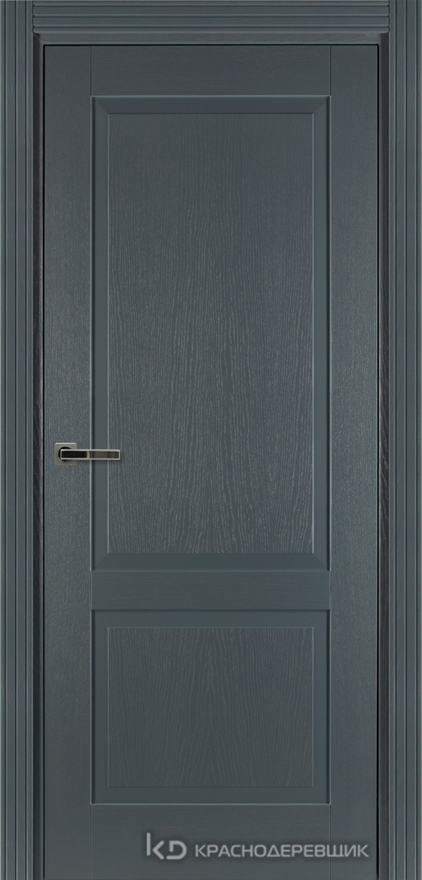 740 ШпонЭмальСерый Дверь 742 ДГ 21- 9 (пр/л), с фурн.