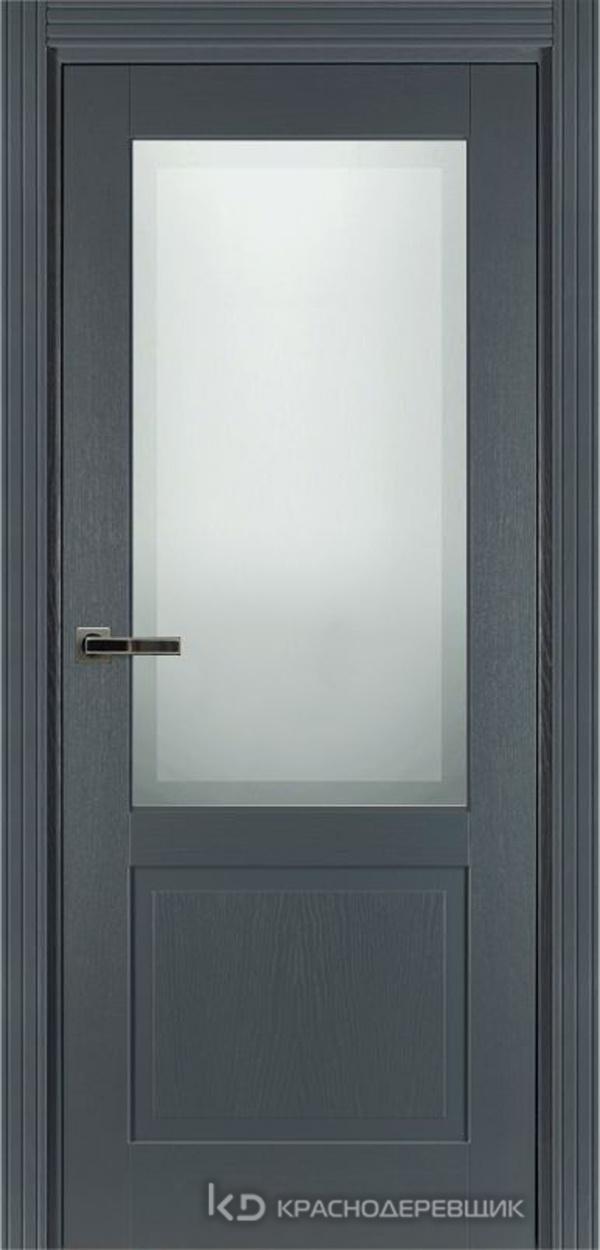 740 ШпонЭмальСерый Дверь 742.1 ДО 21- 9 (пр/л), с фурн. СтеклоМатПсевдофацет
