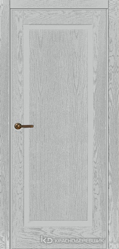 740 ШпонЭмальСветлоСерый Дверь 741 ДГ 21- 9 (пр/л), с фурн.