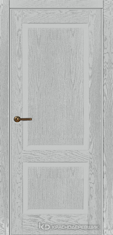 740 ШпонЭмальСветлоСерый Дверь 742 ДГ 21- 9 (пр/л), с фурн.