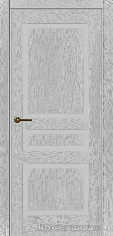 740 ШпонЭмальСветлоСерый Дверь 743 ДГ 21- 9 (пр/л), с фурн.