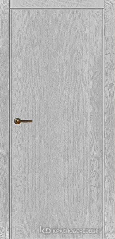 740 ШпонЭмальСветлоСерый Дверь 740 ДГ 21- 9 (пр/л), с фурн.