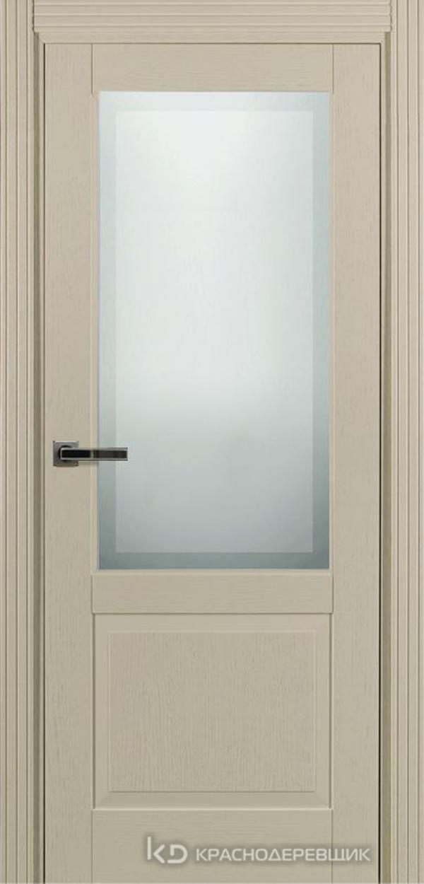 740 ШпонЭмальЖемчужный Дверь 742.1 ДО 21- 9 (пр/л), с фурн. СтеклоМатПсевдофацет