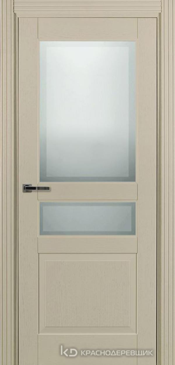 740 ШпонЭмальЖемчужный Дверь 743.1 ДО 21- 9 (пр/л), с фурн. СтеклоМатПсевдофацет