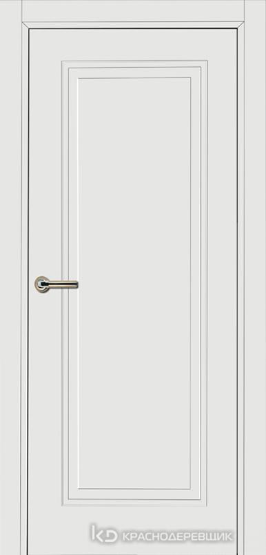 750 MDF ЭмальБелый Дверь 751 ДГ 21- 9 (пр/л), с фурн.