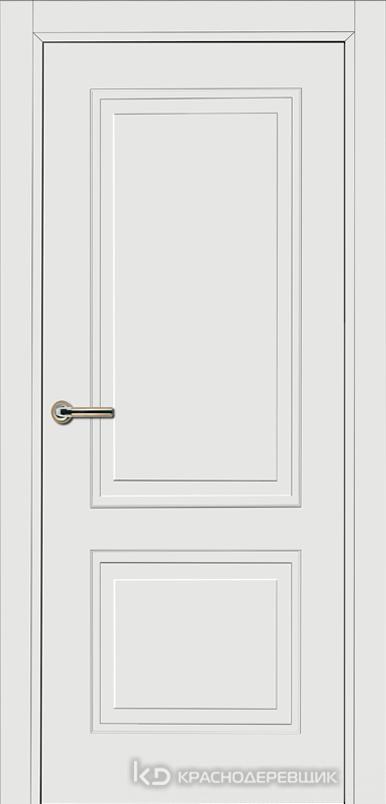 750 MDF ЭмальБелый Дверь 752 ДГ 21- 9 (пр/л), с фурн.