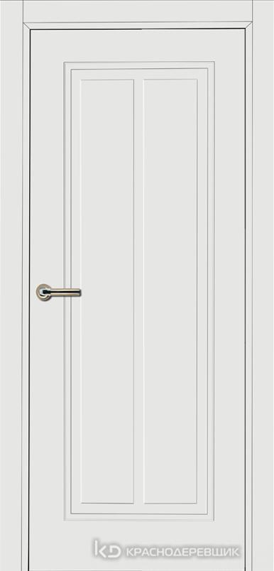 750 MDF ЭмальБелый Дверь 754 ДГ 21- 9 (пр/л), с фурн.