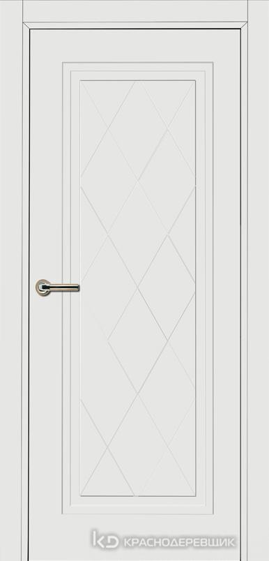 750 MDF ЭмальБелый Дверь 755 ДГ 21- 9 (пр/л), с фурн.