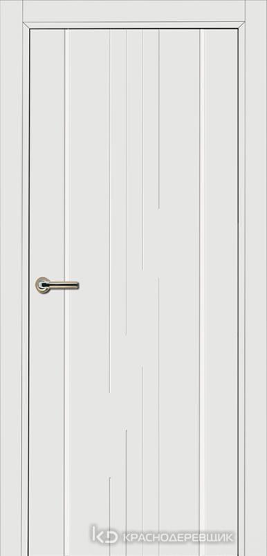 750 MDF ЭмальБелый Дверь 757 ДГ 21- 9 (пр/л), с фурн.