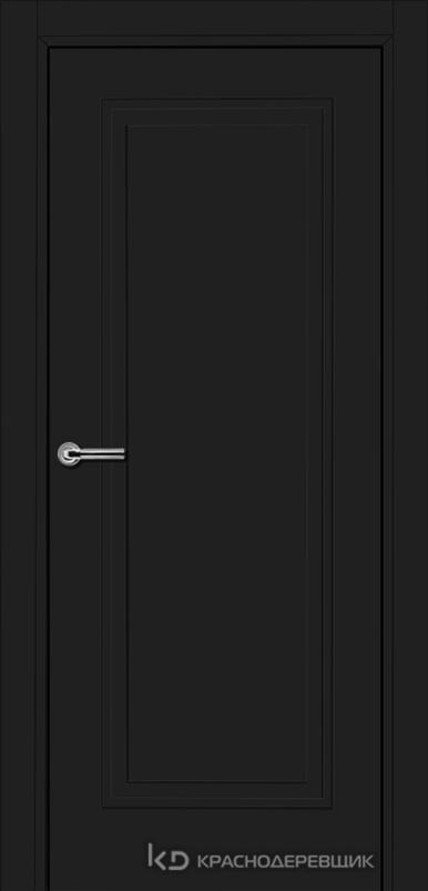 750 MDF ЭмальЧерный Дверь 751 ДГ 21- 9 (пр/л), с фурн.