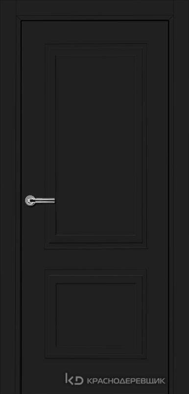 750 MDF ЭмальЧерный Дверь 752 ДГ 21- 9 (пр/л), с фурн.