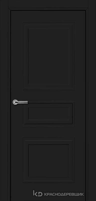 750 MDF ЭмальЧерный Дверь 753 ДГ 21- 9 (пр/л), с фурн.
