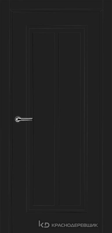 750 MDF ЭмальЧерный Дверь 754 ДГ 21- 9 (пр/л), с фурн.