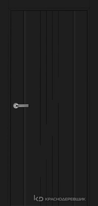 750 MDF ЭмальЧерный Дверь 757 ДГ 21- 9 (пр/л), с фурн.