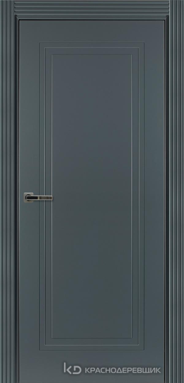 750 MDF ЭмальСерый Дверь 751 ДГ 21- 9 (пр/л), с фурн.