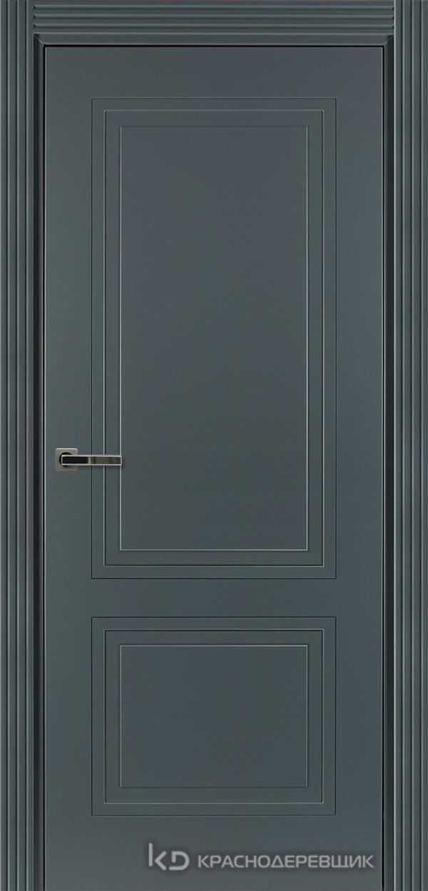 750 MDF ЭмальСерый Дверь 752 ДГ 21- 9 (пр/л), с фурн.