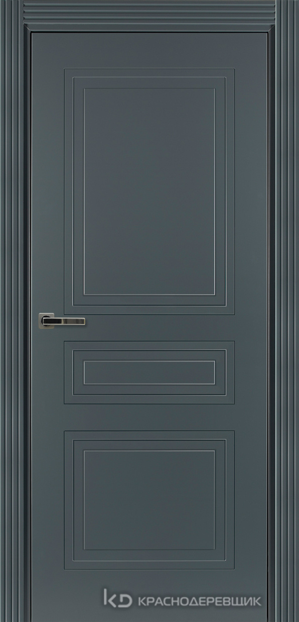 750 MDF ЭмальСерый Дверь 753 ДГ 21- 9 (пр/л), с фурн.